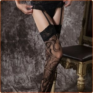 Garterbelt stockings